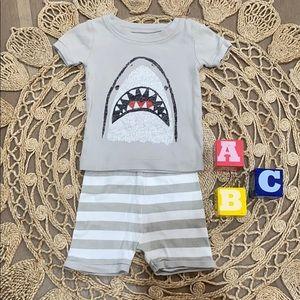 Old Navy shark pajamas